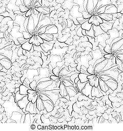 Grayscale seamless wallpaper