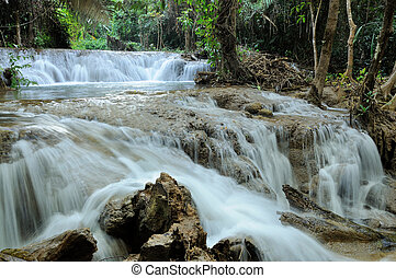 Greanggavea water fall in Thailand