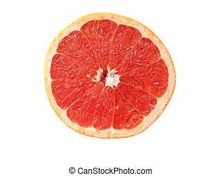 greapefruit, hälfte