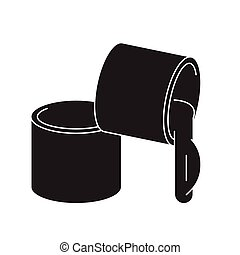 Grease, lubricant black vector concept icon. Grease,...