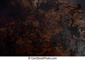 Grease Stained Metal - Background texture of grease stained...