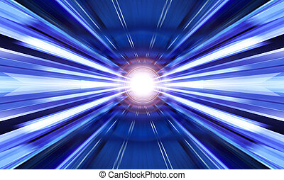 light of abstract background - greased blue light of ...