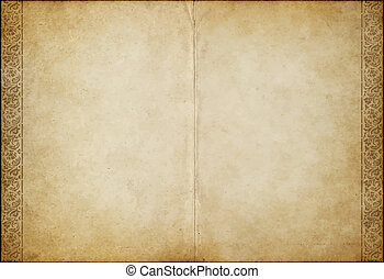 old parchment paper - great background image of old...