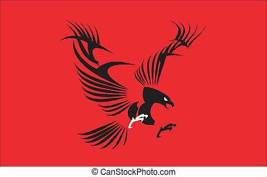 Great Black Eagle