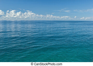 great blue ocean - great image of the tropical ocean