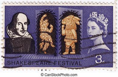 GREAT BRITAIN - CIRCA 1963 : stamp printed iny Great Britain...