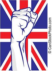 Great Britain fist