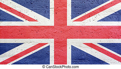 Great Britain flag background - Great Britain blue red white...