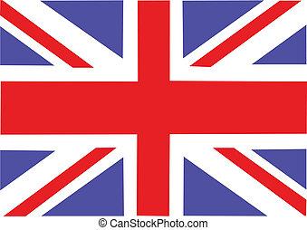 Great Britain flag. Vector illustration