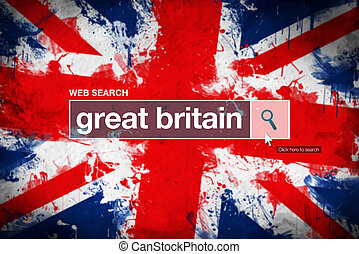 Great Britain - web search bar glossary term