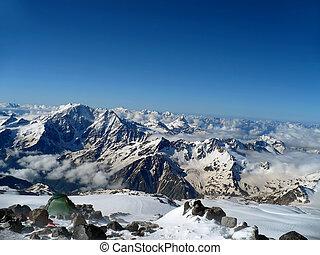 Great Caucasus - beautiful landscape of the Greater Caucasus