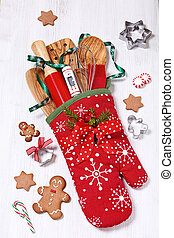 Great Christmas gift idea. Stuffed baking mitt