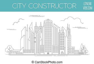 Great city map creator