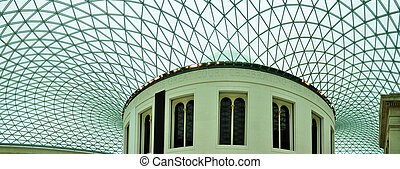 British Museum - Great Court of British Museum largest...