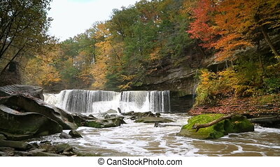Great Falls of Tinkers Creek Loop - Looping video features...