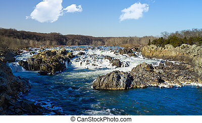 Great Falls on Potomac outside Washington DC