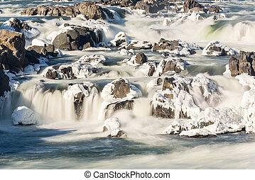 Great Falls on Potomac outside Washington DC