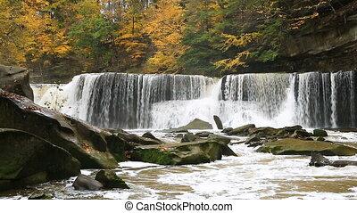 Great Falls on Tinkers Creek Loop - Looping video features...