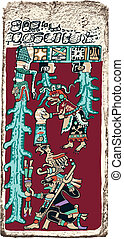 Great Flood Maya Prophecy - Papyrus of the Dresden Maya...