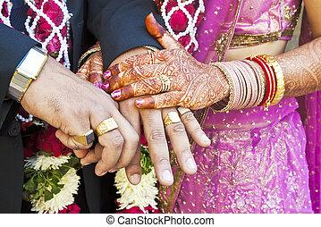 Great Hindu Wedding Horizontal - Horizontal color capture...