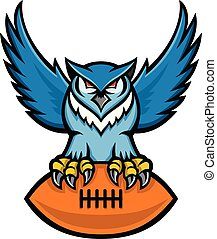 great-horned-owl-american-foolball-MASCOT