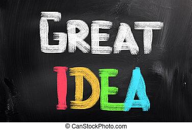 Great Idea Concept