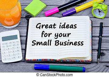 Great idea for your small business words