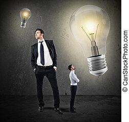 Great ideas from little businessmen