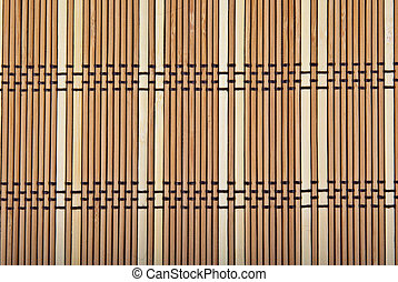 wooden bamboo mat background