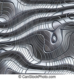 great image of an abstract metal background