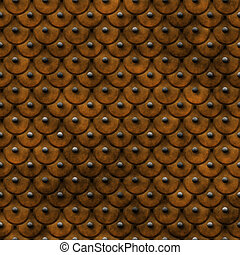 leather armor - great image of old studded leather armor