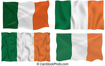 Flag of Ireland - Great Image of the Flag of Ireland