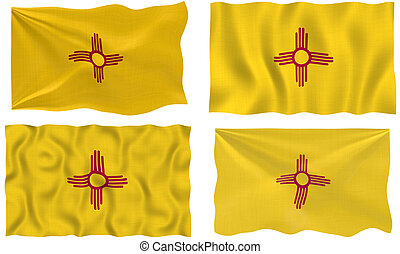 Great Image of the Flag of New Mexico
