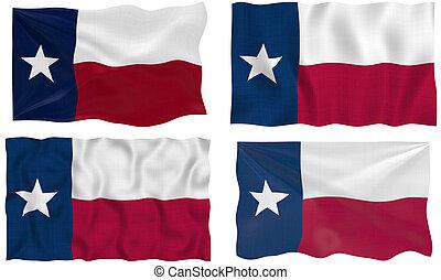 City And Flag Of Texas Clipartby Rbiedermann2 116
