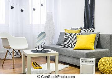 Great job of an interior decorator - Shot of a modern...