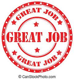 Great Job-stamp