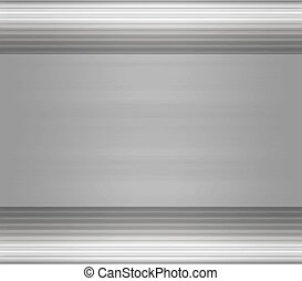 great large metal steel or aluminium plate background