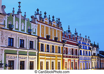 Great Market Square in Zamosc
