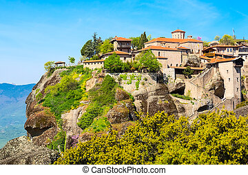 Great Meteoro Monastery in Meteora - Great Meteoro Monastery...