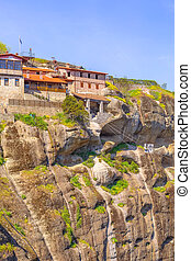 Great Meteoron Monastery in Meteora, Greece - The Great ...