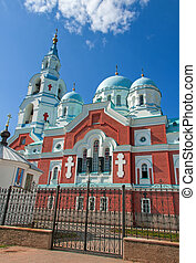 Great monasteries of Russia. Island Valaam. Spaso-Preobrazhenskiy cathedral