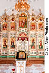 Great monasteries of Russia. Island Valaam. Resurrection...