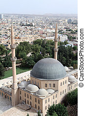 Great mosque and Urfa