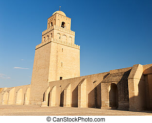 Great Mosque of Kairouan, Tunisia is the fourth most sacred...