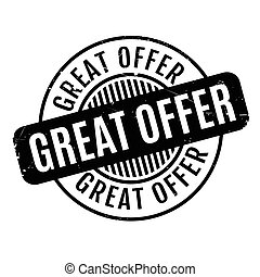 Great Offer rubber stamp