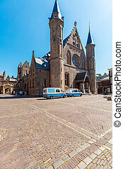Great, or St. James Church in The Hague, Netherlands -...