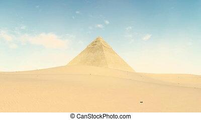 Great Pyramid of Khafre at Giza, Egypt 4K - Great Pyramid of...