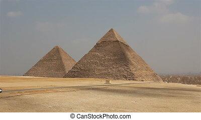 Great Pyramids. Cairo. Egypt