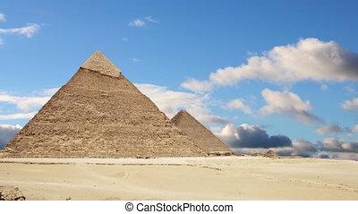 Pyramids of Giza. Cairo. Egypt