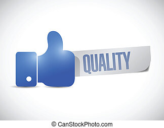 great quality sign hand illustration design